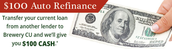 $100 Auto Refinance offer