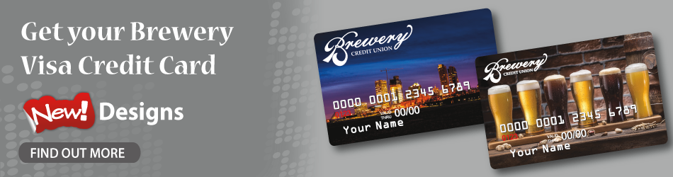 New Brewery Visa Credit Card Designs